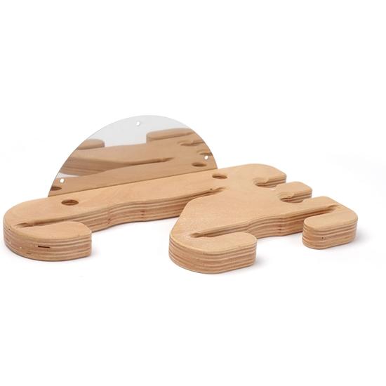 Wieszak drewniany na łopaty i szczotki do pizzy na 4 miejsca ścienny Lilly Codroipo Hendi 617755