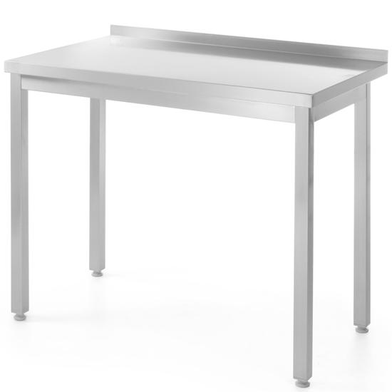 Stół roboczy przyścienny skręcany ze stali nierdzewnej 600x600x(H)850mm Hendi 811313