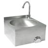 Umywalka kuchenna bezdotykowa ze stali nierdzewnej ścienna Hendi 810316