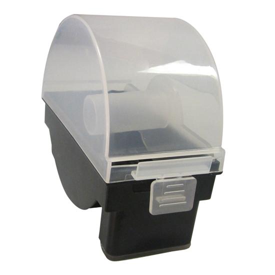 Pojedynczy podajnik pojemnik na naklejki food safety Hendi 850176