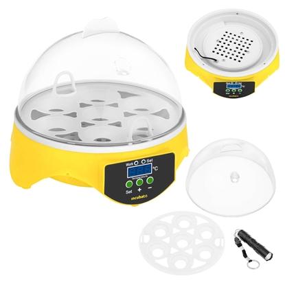 Inkubator wylęgarka klujnik do wylęgu 7 jaj + owoskop 20W
