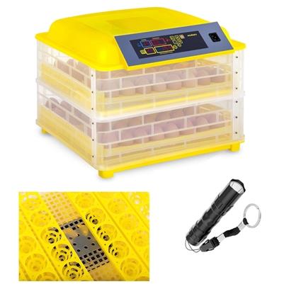 Inkubator wylęgarka klujnik do wylęgu do 96 jaj + owoskop 120W