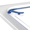 Pokrywka z uszczelką silikonową do pojemników GN 1/2 - HENDI 881811