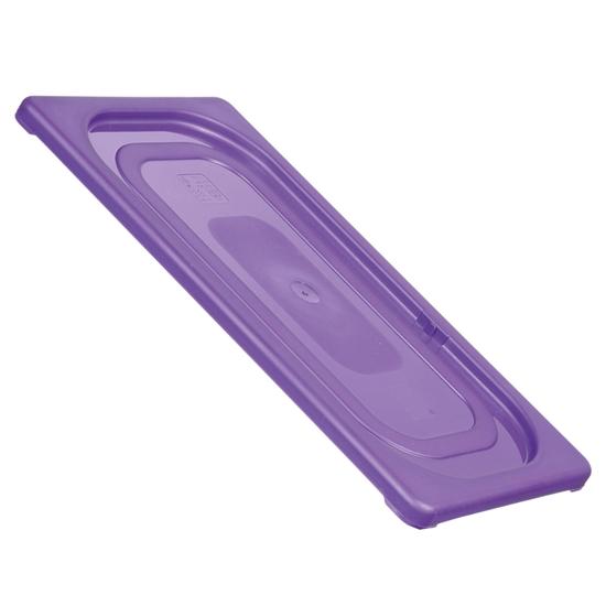 Pokrywka do pojemników HACCP dla alergików GN 1/4 - fioletowa - HENDI 881736