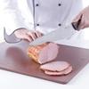 Nóż kucharski do wędlin i gotowanych mięs HACCP 385mm - brązowy - HENDI 842799