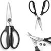 Nożyce kuchenne rozkładane z miękkim uchwytem + otwieracz - HENDI 856284