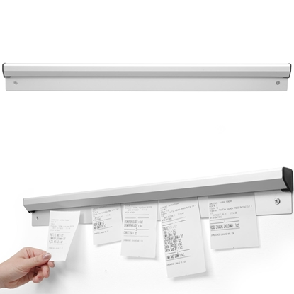 Listwa do bonowania bonów zamówień aluminium dł. 915mm - HENDI 513712