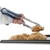Szczypce do serwowania potraw HACCP - czerwone - HENDI 171837