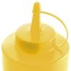 Dyspenser butelka do zimnych sosów zestaw 3szt. - żółty 0.35L - HENDI 557839