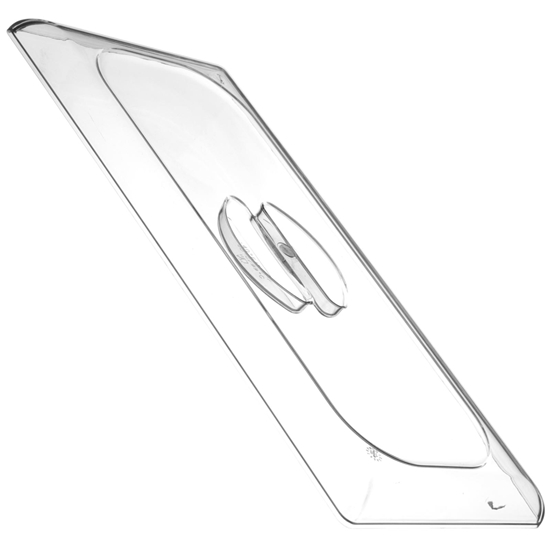 Pokrywka do kuwety do lodów z poliwęglanu płaska 360x165mm - HENDI 807088