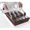 Znacznik do ciasta rozstawny regulowany 13-125mm 5 ostrzy - HENDI 515044