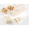 Rolka tnąca wałek do nacinania ciasta w paski Kitchen Line 80x210mm - HENDI 515068