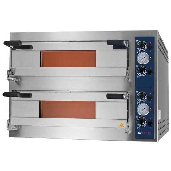 Piec do pizzy SMART 44 PLUS 2 komorowy 400V 10800W