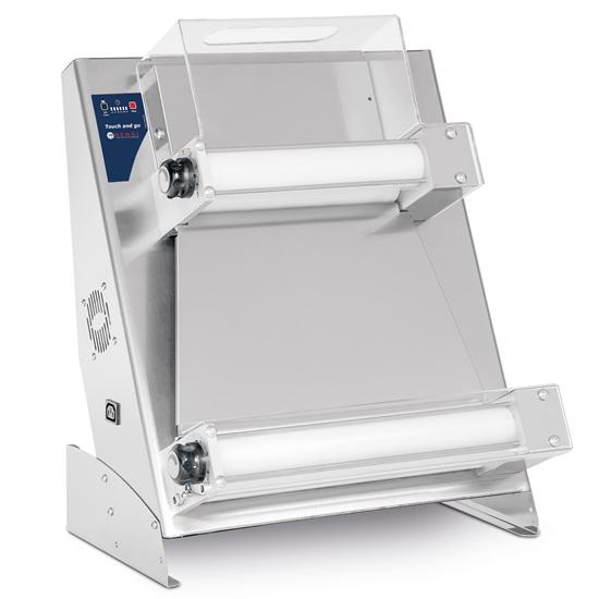 Wałkownica elektryczna do ciasta na pizze Touch And Go 400 2 pary wałków