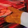 Rękawice termiczne kuchenne ochronne skórzane 2szt.