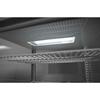 Witryna chłodnicza cukiernicza na kółkach 5 półek 280L LED  - czarna
