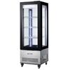Witryna chłodnicza cukiernicza na kółkach 3 półki LED 400L