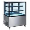 Witryna chłodnicza cukiernicza 2-półkowa jezdna LED 300L