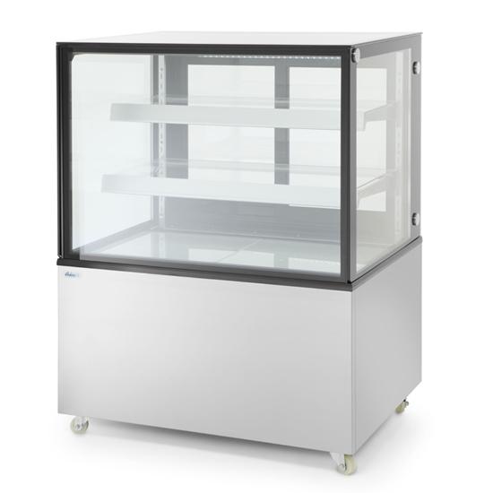 Witryna chłodnicza cukiernicza 2-półkowa jezdna LED 410L