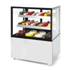 Witryna chłodnicza cukiernicza 2-półkowa jezdna LED 510L