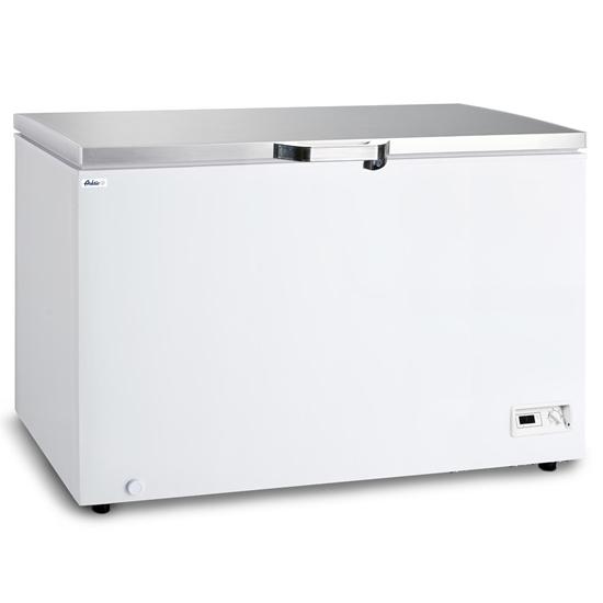 Zamrażarka skrzyniowa energooszczędna A+ do -26C LED 446L