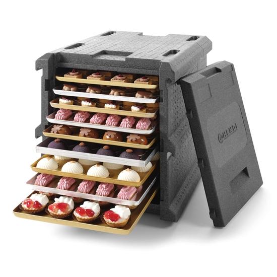 Pojemnik termiczny cukierniczy do przewozu ciast 9 blach 60x40cm