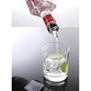 Dozownik nalewak do alkoholu chromowany ZESTAW 6szt.