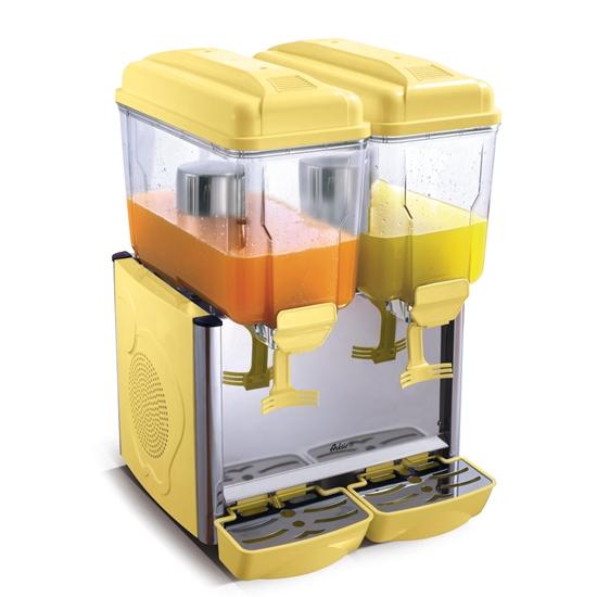 Dyspenser dozownik chłodzący do soków i napojów 2 x 12L