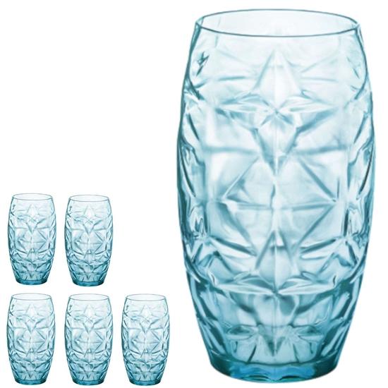 Szklanka Cool Blue wysoka ORIENTE 470ml - zestaw 6szt.