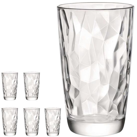 Szklanka wysoka DIAMOND 470ml - zestaw 6szt.