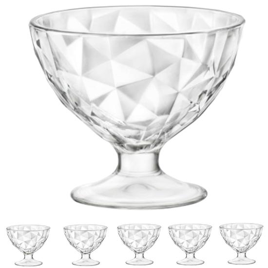 Pucharek DIAMOND 360ml - zestaw 6szt.