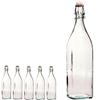 Butelka z korkiem SWING 1L - zestaw 6szt.