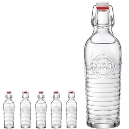 Butelka z korkiem OFFICINA 1825 1.2L - zestaw 6szt.