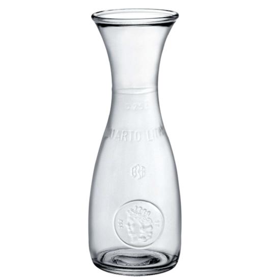 Karafka do wina wody lemoniady MISURA 250ml - zestaw 12szt.