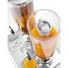 Dyspenser dozownik do soków napojów chłodzony podwójny 2 x 3L