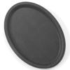 Taca kelnerska antypoślizgowa owalna 16x23cm - czarna