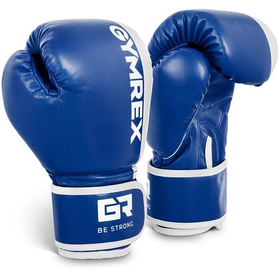 Rękawice bokserskie treningowe dla dzieci 6 oz niebieskie