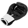 Rękawice bokserskie treningowe dla dzieci 6 oz czarne