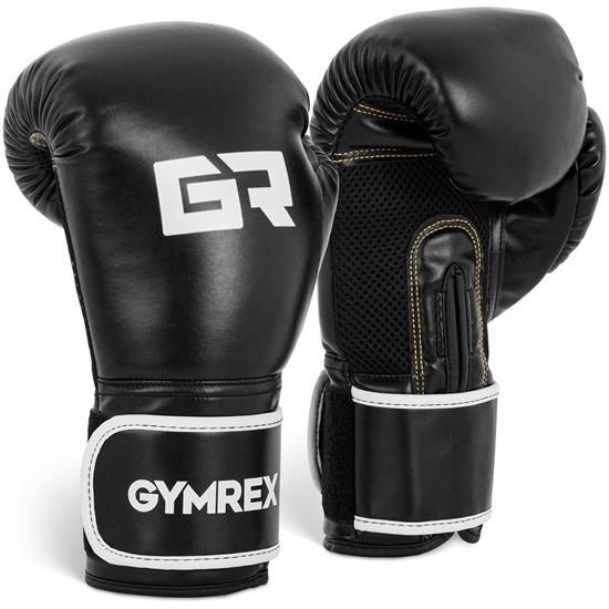 Rękawice bokserskie treningowe 16 oz czarne