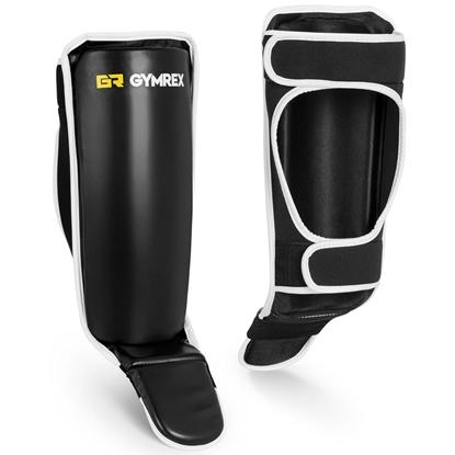 Ochraniacze na piszczele i stopy do sportów walki S/M