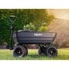 Wózek ogrodowy transportowy wywrotka 125 l 350 kg