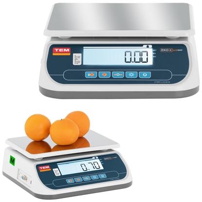 Waga sklepowa handlowa 30 kg / 10 g LCD LEGALIZACJA