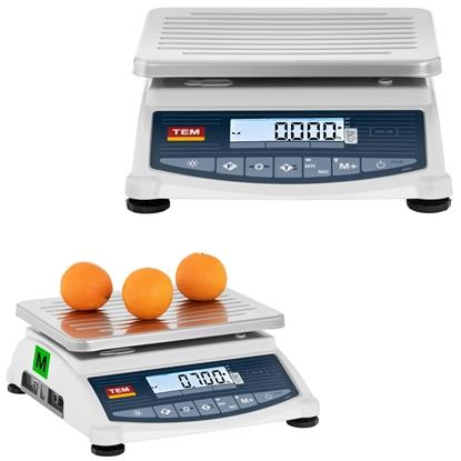 Waga sklepowa handlowa 120 kg / 50 g LCD M LEGALIZACJA