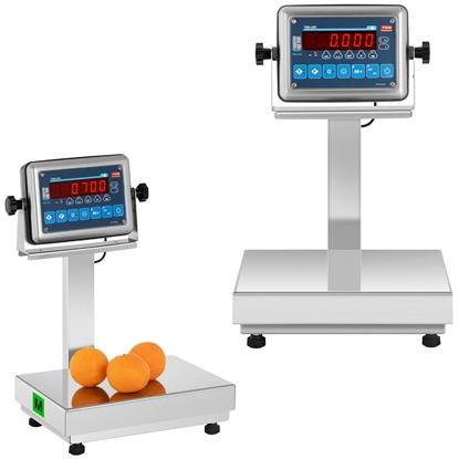 Waga platformowa magazynowa 60 kg / 20 g LCD M LEGALIZACJA