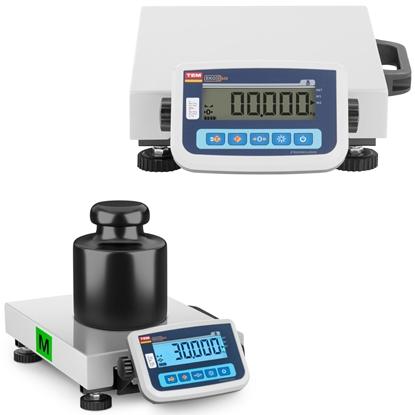 Waga pocztowa do paczek i listów 30 kg / 10 g LCD M LEGALIZACJA