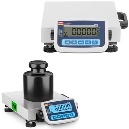 Waga pocztowa do paczek i listów 60 kg / 20 g LCD M LEGALIZACJA