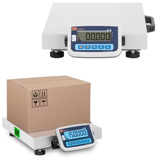 Waga magazynowa paczkowa 150 kg / 50 g LCD M LEGALIZACJA