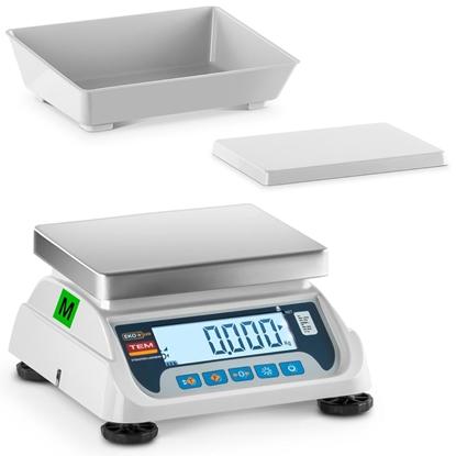 Waga stołowa 2 platformy interfejs RS232 3 kg / 1 g LCD M LEGALIZACJA