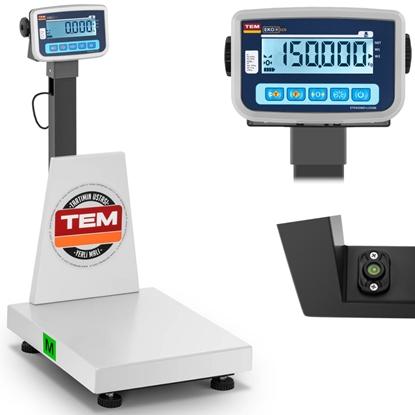 Waga platformowa przemysłowa interfejs RS232 150 kg / 50 g LCD M LEGALIZACJA