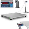 Waga platformowa przemysłowa interfejs RS232 600 kg / 0,2 kg LED M LEGALIZACJA